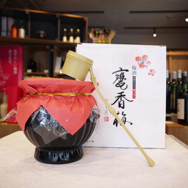 甕香梅(かめこうばい)梅酒 720 ml / 株式会社マスカガミ