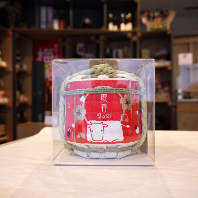 ミニ  菰樽(こもだる) 梅酒   300ml / 河内ワイン