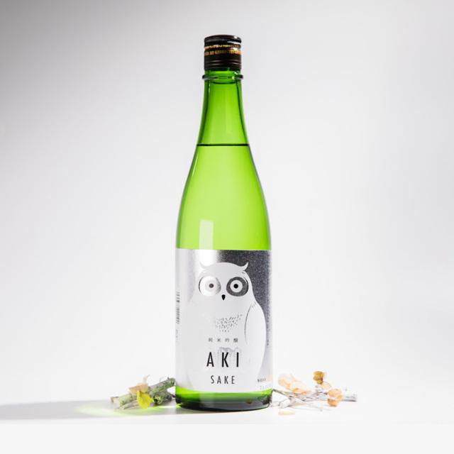 寒紅梅酒蔵  AKI SAKE 秋酒 ふくろう