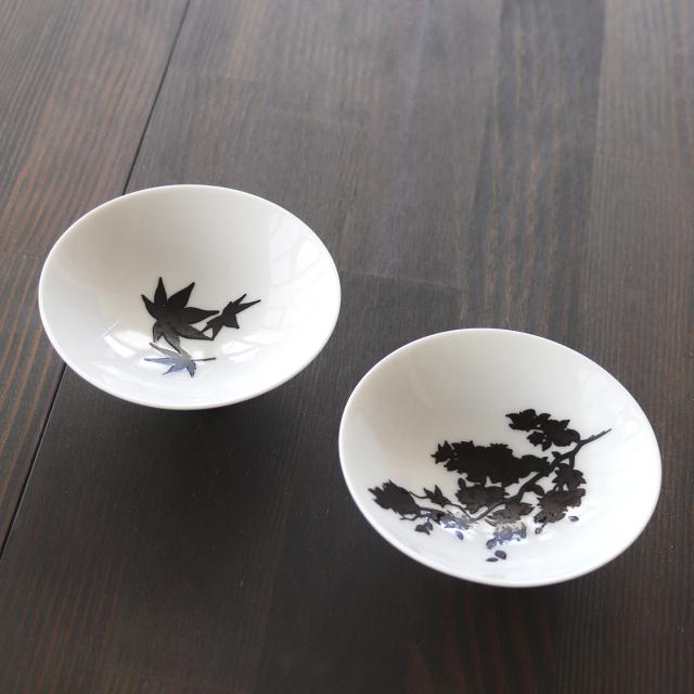 【9/20まで10%OFF】温感平盃 桜・紅葉セット / 丸モ高木陶器
