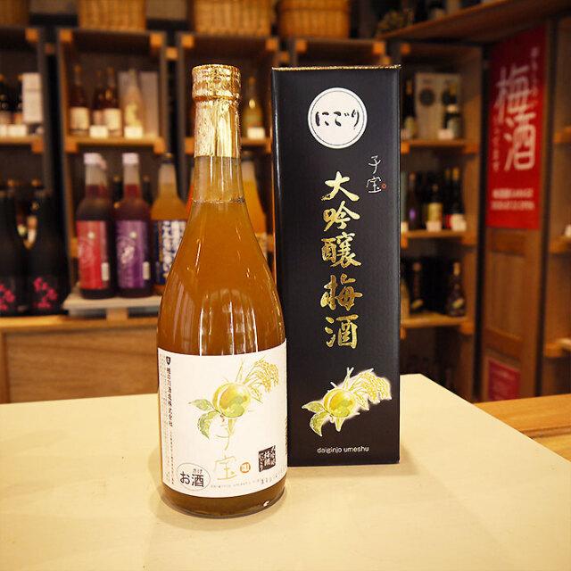 子宝 大吟醸梅酒にごり 720 ml / 楯の川酒造