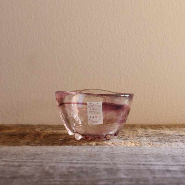 色硝子・酒杯 達磨盃紫 70cc / 丸モ高木陶器