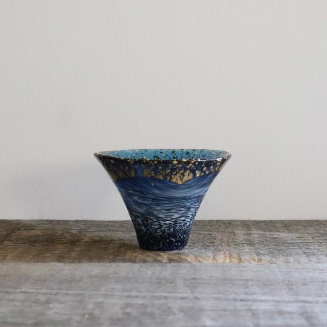 富士山金紺(白まぶし) 65cc/丸モ高木陶器