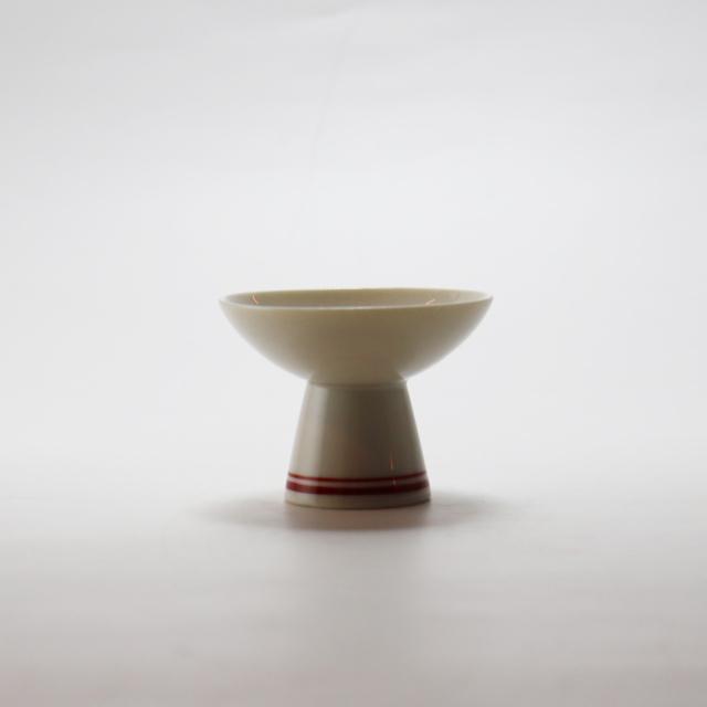 見込小花高浜盃 / 丸モ高木陶器
