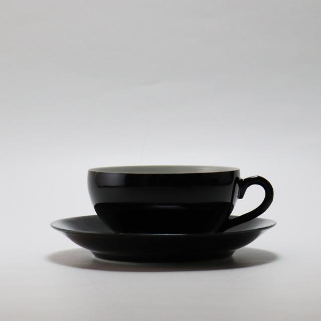 超うす手黒釉/丸モ高木陶器