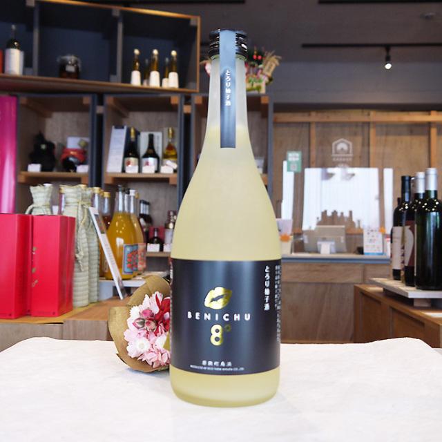 BENICHU8°  ベニチュウ8  とろり柚子酒 720ml / 海琳堂オリジナル