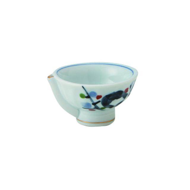 サウンド盃 梅木 40cc / 丸モ高木陶器