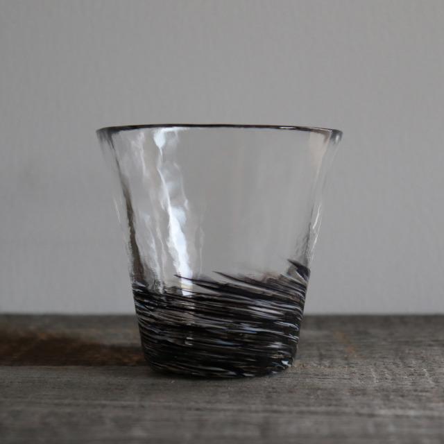 5色のグラス 墨 260cc/丸モ高木陶器