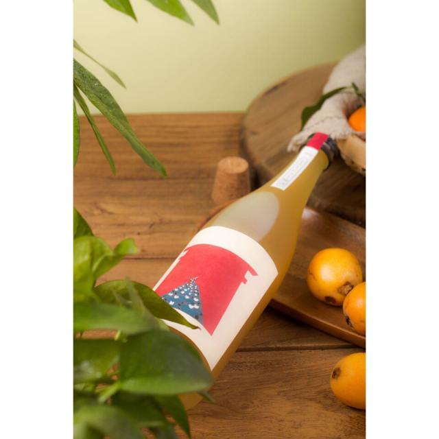 【シリーズ全5種類】むかしはなし とろりにごり梅酒 720ml / 室町酒造