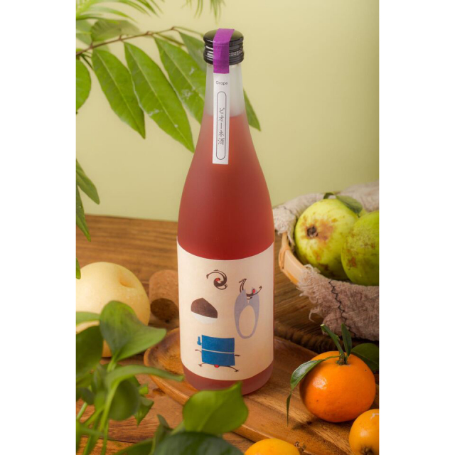 【シリーズ全5種類】むかしはなし ピオーネ酒 720ml / 室町酒造