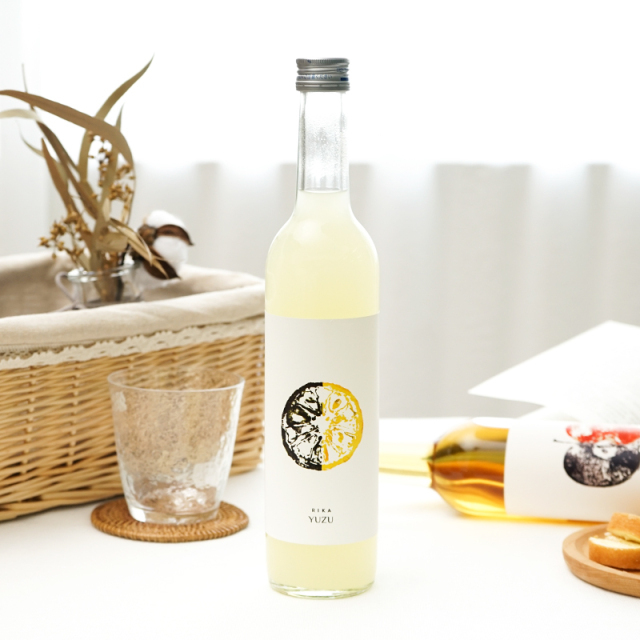 RIKA YUZU(リカ ユズ) 500ml/一宮酒造