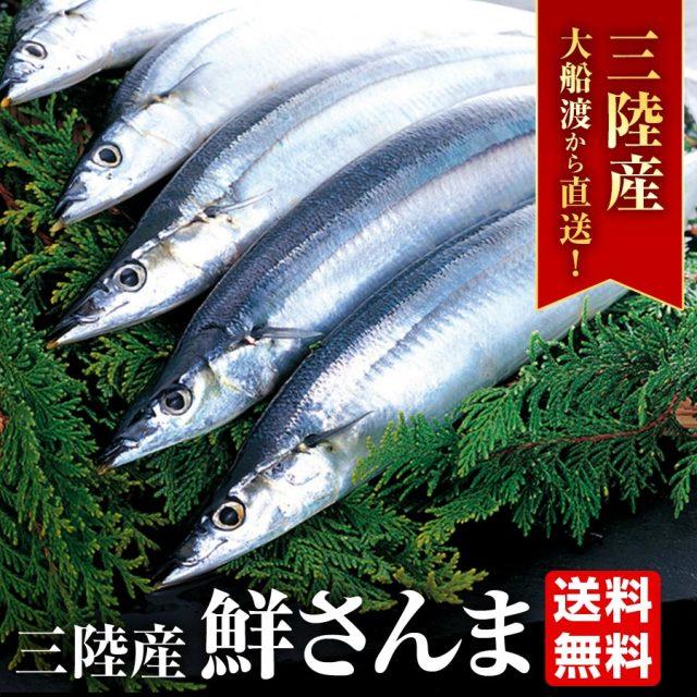 【大船渡産】産地直送 鮮さんま 6種から選べるサイズと尾数