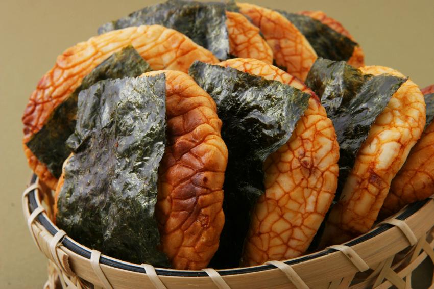海苔付醤油おせんべい『のり丸』