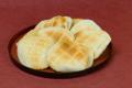 『素焼きせんべい』ひびの入った塩分のないお煎餅