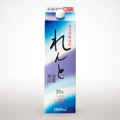 奄美黒糖焼酎 れんと 紙パック (1800ml) 25度