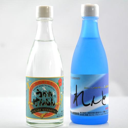 ミニボトル2本セット (108ml) 25度 (れんと・うかれけんむん)