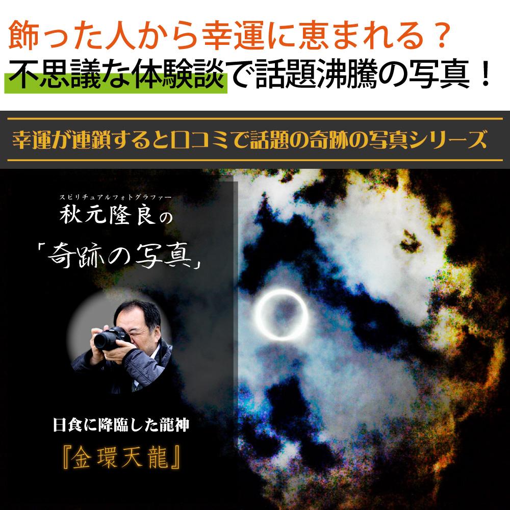 【奇跡の写真】金環天龍