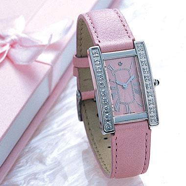 ピンクの開運ウォッチ