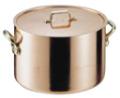 エトール銅 半寸胴鍋 15�