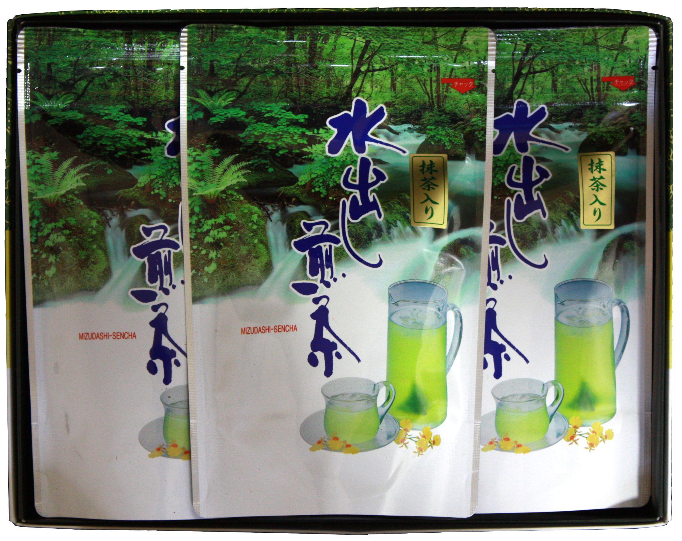水出し煎茶ティーバッグ5g15入3袋セット