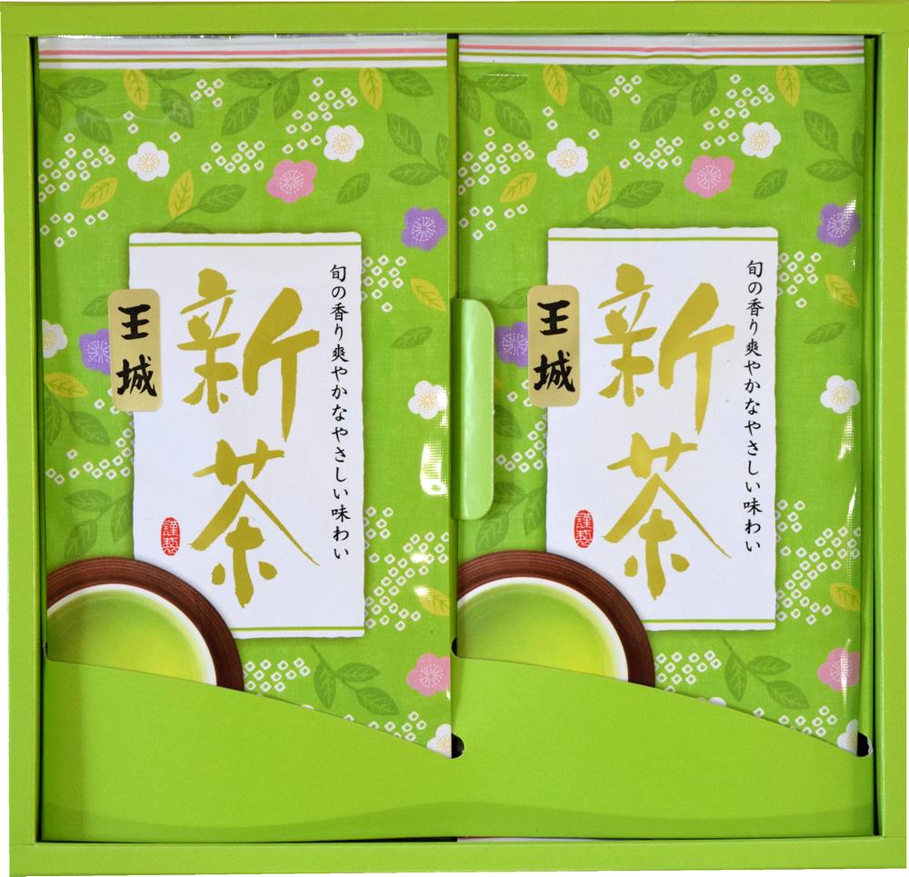 新茶の深蒸し掛川茶 王城100g2袋セット