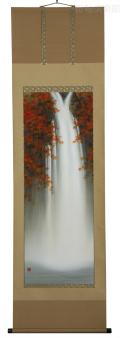 A5566-美濃正堂-紅葉瀑布-尺五立--51
