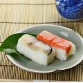 【帰省のお礼】薫る柿の葉ずし スモークセット 鯖・鮭8個入り