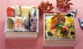 【敬老の日限定】ミニ柿の葉ずし 16個入と秋のちらしずしのセット可愛い柿の葉寿司♪敬老の日の贈り物 贈り物に人気