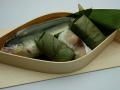 すだち鮎ずしとこだわりの柿の葉ずしのセット 奈良のお土産にも最適♪御礼やお祝いに♪/1〜のお届けです。