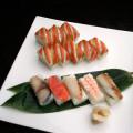 【送料無料】母の日の贈り物!カラフルセット 日本料理の美しい棒ずし♪