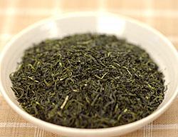 鶴粋銘茶シリーズの上級釜茶、釜茶天�の茶葉外観です
