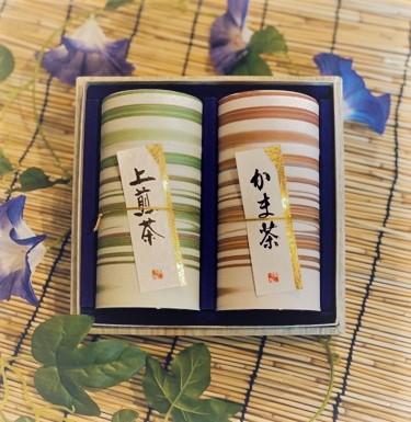 銘茶2缶入り 巴(ともえ)
