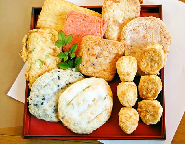 天ぷら(さつま揚げ・揚げ天)人気ベスト5とファミリーセット