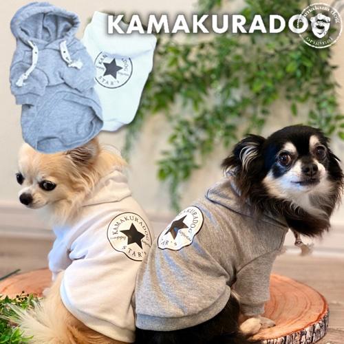 kamakuradog star's パーカー
