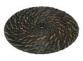 鍋敷き[黒染]丸型