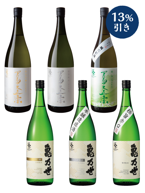 定番酒1800ml6本セット