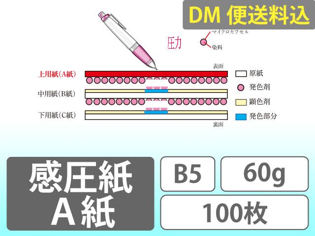 DM便送料込 A紙 B5 60g 100枚入り