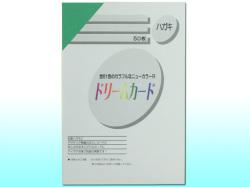 ドリームカード ニューカラーR(TYPE-B)/はがきサイズ/みどり 50枚