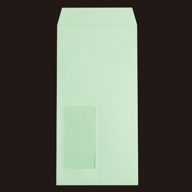 長3窓付  カラー(スミ貼 ECカラーCoC 80 〒枠ナシ)1000枚