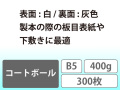 コートボール B5