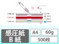 感圧紙 B紙 A4 60g 500枚