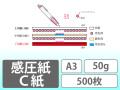 感圧紙 C紙 A3 50g 500枚