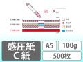 感圧紙 C紙 A5 100g 500枚