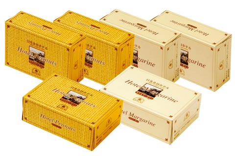 【U24】金谷ホテルマーガリン&金谷ホテルピーナツクリームセット (冷蔵)