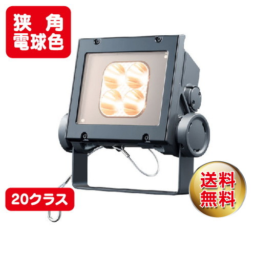 岩崎電気 ecf2040n/lsan8/dg led投光器 レディオックフラッドネオ 20クラス 狭角タイプ 電球色タイプ