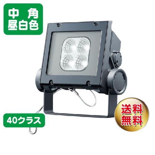 岩崎電気 ecf4040m/nsan8/dg led投光器 レディオックフラッドネオ 40クラス 中角タイプ 昼白色タイプ
