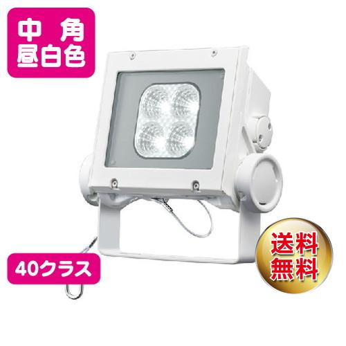 岩崎電気 ecf4040m/nsan8/w led投光器 レディオックフラッドネオ 40クラス 中角タイプ 昼白色タイプ
