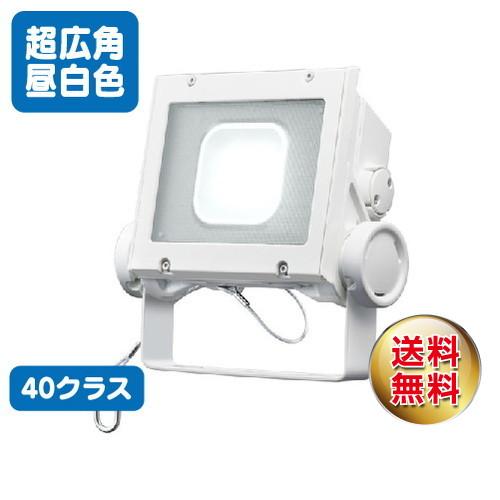 岩崎電気 ecf4040sw/nsan8/w led投光器 レディオックフラッドネオ 40クラス 超広角タイプ 昼白色タイプ