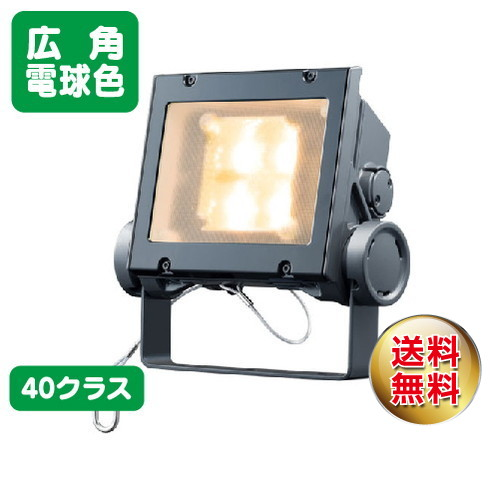 岩崎電気 ecf4040w/lsan8/dg led投光器 レディオックフラッドネオ 40クラス 広角タイプ 電球色タイプ