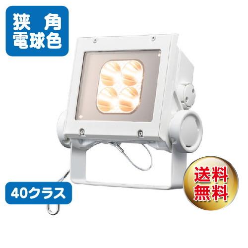 岩崎電気 ecf4040n/lsan8/w led投光器 レディオックフラッドネオ 40クラス 狭角タイプ 電球色タイプ